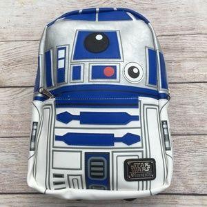 Loungefly x Star Wars R2-D2 mini Backpack NWT